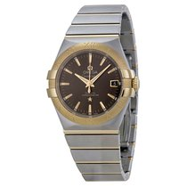 Omega Constellation Steel and 18kt Yellow Gold Mens Watch...