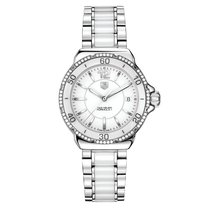 TAG Heuer Formula 1 Diamond Automatic Steel and White Ceramic