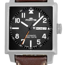 "Fortis ""Square"" Automatic Strapwatch."