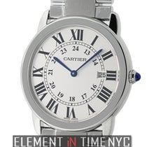 Cartier Ronde Solo Collection Large 36mm Stainless Steel Quartz