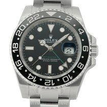 Rolex GMT-Master II Stainless Steel Black DIal  Ref. 116710