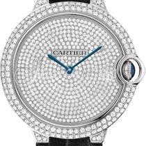 Cartier WE902049 BALLON BLEU DE 42mm WHITE GOLD 2016