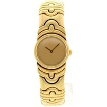 Bulgari Ladies  Parentesi 18k Yellow Gold Bangle 854893