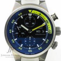 IWC Aquatimer Chronograph  DayDate Titan Ref: 3719, 2 Bänder