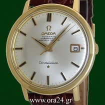 Omega Constellation Automatic 36mm  18k Yellow Gold