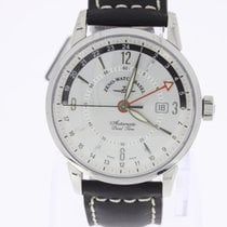 Zeno-Watch Basel Magellano GMT (Dual Time) white NEW