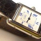 Cartier Tank Louis Argent 925 Silver Quartz Watch Roman Dial 2416