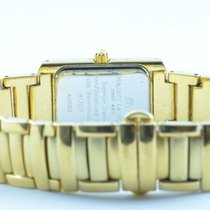 Maurice Lacroix Carree Damen Uhr Vergoldet 25mm Mit Original...