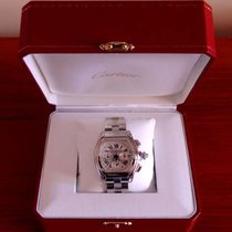 Cartier Roadster 2618 Chronograph  XL Stainless Steel Automati...