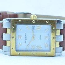 Raymond Weil Herren Uhr Tango 34mm Stahl/gold Rar