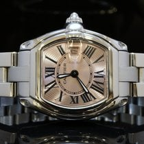 Cartier 2004 Ladies Roadster, MINT, Spare new Strap, Box &...