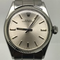 Rolex OYSTER PERPETUAL MEDIUM SIZE 31MM WHITE GOLD BEZEL