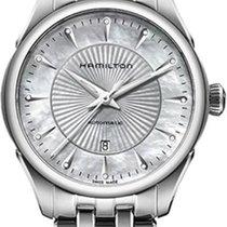 Hamilton Jazzmaster Lady H42215111 Damenarmbanduhr Mit Diamant