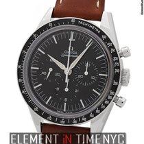 Omega Speedmaster Chronograph Stainless Steel Black Dial 40mm...