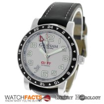 Graham Authentic New Silverstone GMT Automatic 2TZAS.S01A Date