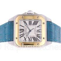 Cartier Santos 100 XL W20072X7 18K Gold & SS Two tone Mens...