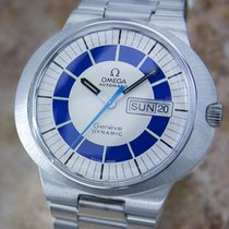 Omega Geneve Dynamic 1960 Mens Vintage Stainless 41mm Automati...