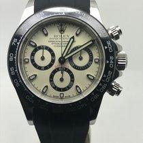 Rolex DAYTONA 116520 STEEL CERAMIC/CREAM BEZEL LIKE NEW