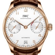 IWC Portugieser Automatic iw500701 7 Days Power Reserve Rose Gold