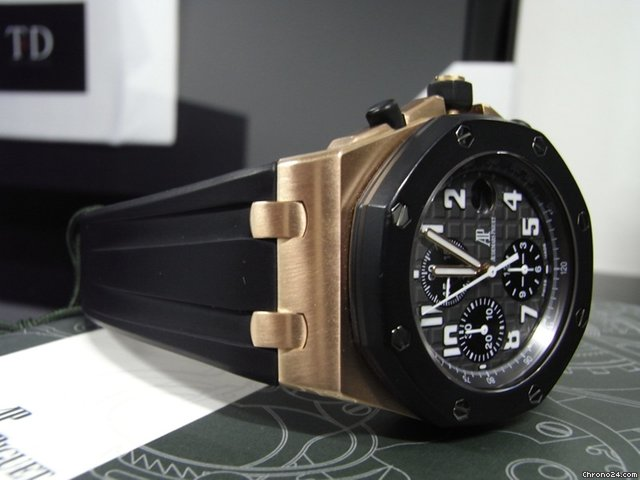 Audemars Piguet Mint Royal Oak Offshore Rose Gold