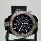 Chanel J12 41mm Chronograph Black Diamond Bezel and Centre Links