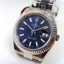 Rolex DATEJUST II, ZB blau index