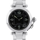 Cartier Pasha C Black Dial Stainless Steel 35mm Watch