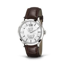 Eberhard & Co. Extra-Fort data al 12, quadrante bianco,...