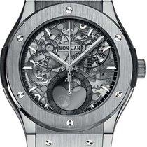 Hublot Men's Classic Fusion Aerofusion Moonphase Watch