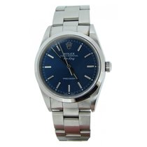 Rolex Air-King 14000M Blue Face & Smooth Bezel Model