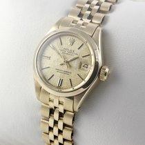 Rolex Lady-Datejust 18 Karat 750er Gelbgold Damenuhr