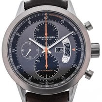 Raymond Weil Freelancer Automatic Chronograph 45 Brown Leather...