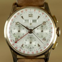 Breitling Vintage Datora Triple-Date Chronograph