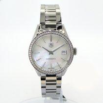 TAG Heuer Ladies Carrera  Quartz Mother of Pearl Dial Diamond...