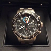 """Fortis B-42 Official Cosmonauts Chronograph Titan """"ISS"""""""