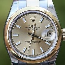 Rolex Ladies Midsize 31mm 2tone 18k Yellow Gold Stainless...