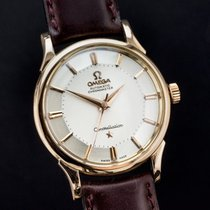 Omega Constellation 'Pie-Pan' pink gold vintage