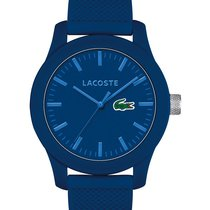 Lacoste 12.12 Watch - Blue Case & Dial - Blue Rubber Strap...