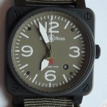 Bell & Ross Aviation Military Type 42mm PVD - BR03 92 S