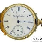 Elgin National Watch Co. 18k Rose Gold Vintage Pocket Watch