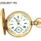 Elgin Antique Victorian Elgin Solid 14k Gold Full Hunter...