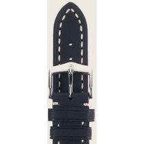 Hirsch Lord Uhrenarmband schwarz L 04528050-2-22 22mm