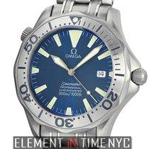 Omega Seamaster Titanium Blue Dial 41mm Automatic Ref. 2232.80.00