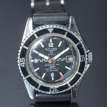 Swiss watch rare SICURA 400 M Diver Vacuum Tested 23 jewels...