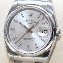 Rolex Date Ref.115200 Stahl NEU19%Mwst Papiere Box 2016
