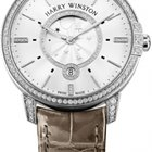 Harry Winston Ladies Midnight Moon Phase 39mm White Gold