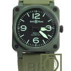 Bell & Ross 03-92 Military Type Khaki Green Ceramic NEW