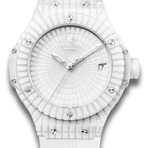 Hublot Big Bang White Caviar Ceramic Watch 346.HX.2800.RW