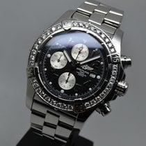 Breitling Super Avenger 48.4mm Automatic Chronograph 3ct...