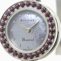 Bulgari Polished  B-zero1 Rhodolite Garnet Mop Dial Ladies...